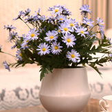 10PCS/künstlicheskoreanischeskleinesDaisy Flowers Hauptlieferungs-Garten-Art-dekorative Gänseblümchen-Simulations-Stützblumen für Hauptinnenfestival-Hochzeits-Dekorationen