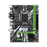 Scheda madre HUANANZHI H61 PLUS V3.1 M-ATX per Intel LGA 1155 Supporto i3 i5 i7 DDR3 1333/1600 MHz 16GB SATA2.0 USB2.0 VGA + HDMI