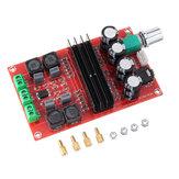 2x100W XH-M190 TPA3116 D2 Placa amplificadora de áudio digital de canal duplo TPA3116D2 Módulo de dois canais 100W + 100W 12-24V