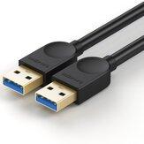 SAMZHE SDY-01A Extensor USB3.0 Macho para Macho Cabo de Extensão 3.0 Cabo USB Fio de Alta Velocidade de Extensão USB Fio