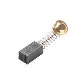 100 Pcs 7x8x12mm Unilateral Auto-stop Ferramenta De Carbono Escova 21 # Substituição Para Hitachi 100 Rebarbadora