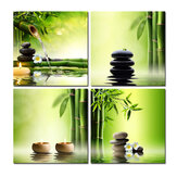 Canvas Pic Schilderij Home Decorations Wall Art Poster Green Zen Bamboo No Frame