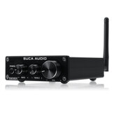 SUCA AUDIO EA502C bluetooth 4.2 2 Channel HiFi Stereo Audio Amplifier Receiver for Home Desktop Speaker
