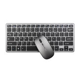 INPHIC V780 2.4 GHz Wireless Keyboard e 1600DPI Wireless Ultra Thin Mouse Conjunto com receptor USB para computador PC