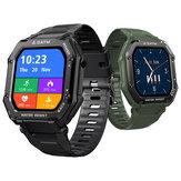 [50 dias em espera] Kospet Rock 1,69 polegadas tela grande Coração Monitor de pressão arterial de SpO2 20 modos esportivos bluetooth 5.0 Relógio inteligente externo de três provas