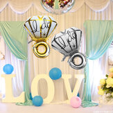 Big Diamon Ring Aluminium Folie Ballon Ik Doe Ballons Voorstel Valentine Wedding Party Decoration