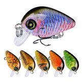ZANLUREDW111510Pcs/Set28.5mm 1.95G Minnow Hard Рыбалка Lure 3D Eyes # 14 Крюк Воблер Crank Bait