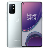 OnePlus 8T 5G Global Rom NFC أندرويد 11 12GB 256GB Snapdragon865 6.55 بوصة FHD + HDR10 + 120Hz Fluid AMOLED شاشة 48MP رباعي الة تصوير 65W Warp شحن الهاتف الذكي