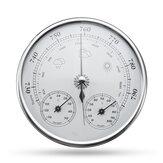Medidor de Pressão do Ar Higrômetro Termômetro Previsão do Clima Suspendido na Parede -30~+50℃ 0~100%Rh 960~1060hPa