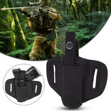 Adjustable Molle Holster Nylon Tactical Bag Magazine Pouch Left Handed Waist Bag Hunting Fishing