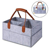 Felt Baby Diaper Bag Folding Storage Bag Caddy Changing Nappy Handbag Baby Products