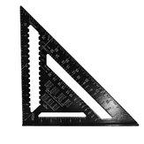 Aliança de alumínio de 300 mm Velocidade da viga quadrada Triângulo Ângulo Quadrado Guia de layout Ferramenta de tratamento da madeira