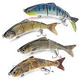 ZANLURE 15 CM balık 4D Çıngırak Alabalık Shad Lures lures-Pike Zander Somon Yırtıcı Balıkçılık