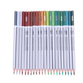 Deli 24/36/48 Colors Pencils Watercolor Drawing Painting Pencil Set School Art Supplies Stationery Gift School Kids Students Supplies
