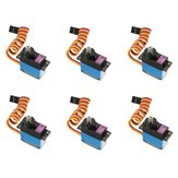 6PCS MG90D 13g Metal Gear Digital Servo per modelli RC