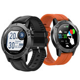 Bakeey T11 1.3inch Full-touch Screen Heart Rate Blood Pressure Oxygen Monitor Music Contorl 12 Watch Dials Smart Watch