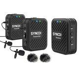 SYNCO G1 G1A1 G1A2 Sistema de microfone sem fio 2.4GHz Entrevista Kit de receptor de lapela de microfone de lapela para telefones DSLR Tablet Camcorder