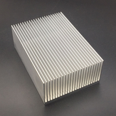 Aluminium Heatsink-koelpad voor krachtige LED IC-chipkoeler Radiator Koellichaam 69 * 37 * 69 mm / 100 mm / 150 mm / 200 mm / 300 mm Optioneel