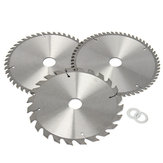 3pcs 210mm Circular Saw Blades Set 24/48/60 Teeth 30mm Bore Diameter Saw Blades