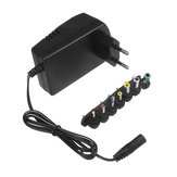 Remote YC-688 EU 110-240V 30W 3/4.5/6/7.5/9/12/15V Power Adapter Supply with 6 Plug