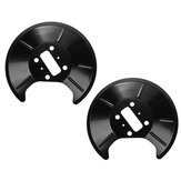 2Pcs Car Black Rear Brake Disc Splash Shield Pairs For Ford Fiesta V  Focus