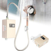 3000W Mini Electric Instant Hot Water Heater Shower LCD Display Bathroom Kitchen