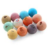 60g*12PCS Bath Salt Bombs Balls Whitening Moisture Essential Oil Body Scrub