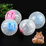 2 Размер Дышащий Прозрачный Шар Без Кронштейна Игрушки Хомяка Игрушки Для Животных Маленький Бег Мяч Пластиковый для Маленьких Домашние ж