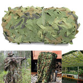 4mX6m Jungle Camo Netting Camouflage Net for Car Cover Camping Woodland Military Hunting