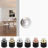 Boutons de porte d'armoire intégrés Boutons à ressort Trous cachés monotrou Poignées de porte d'armoire