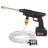 36V High Pressure Washer Cleaner Pumps Electric Cordless Car Washing Guns Water Hose Cleaning W/ 1/2pcs Battery