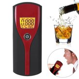 Pro Digital Breath Alcohol Tester LCD Display Retroiluminado Bafômetro Fácil de Usar Analisador de Medidor de Álcool