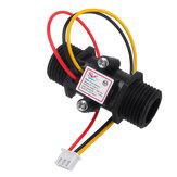 YF-S201C Черный Расходомер Расход воды Датчик Переключатель Точный расходомер Турбинный расходомер G1/2 DN15