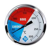 Bakeey 300 ℃ 2 '' Edelstahl Grill BBQ Raucher Grill Thermometer Haushaltsofen Thermometer Temperaturanzeige Backgerät