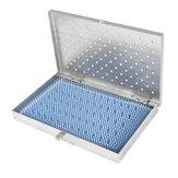 Boîte à outils chirurgicale de chirurgie de taille moyenne de cas de cas de stérilisation d'acier inoxydable