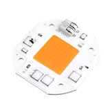 LUSTREON 50W LED Full Spectrum Plant Grow Light 380-840nm DIY Chip AC100-260V