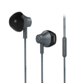 KIVEE MT06 3.5mm Wired Control In-Ear Headphones HiFi Sound Earphone with Mic for iphone PC Computer
