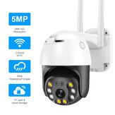 INQMEGA 5MP Kablosuz Wifi IP Kamera AI Gözetimi 1080P HD Gece Görüşlü İki Yönlü İnterkom Outdoor Su Geçirmez ONVIF
