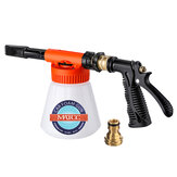 MATCC Car Foam Gun Foam and Adjustable Car Wash Sprayer with Adjustment Ratio Dial Foam Sprayer Fit Garden Hose for Car Home Cleaning and Garden Use 0.23 Gallon Bottom