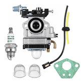 Vergaser für Jiffy Ice Auger Jiffy 2-Takt-Motoren ersetzen 4082 Carb W / Dichtung