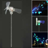 Vertical DIY Project Turbines LED Windmill Small DC Motor Wind Blades Wind Generator