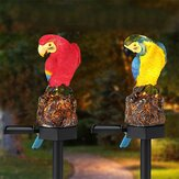 Zonne-energie Parrot LED Landscape Lamp Waterproof Garden Outdoor Path Light