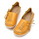 SOCOFY Casual Soft Düz Loafer'lar