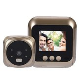 2.4 Pollici LCD Video campanello Night Vision Talk Smart campanello di sicurezza fotografica LED