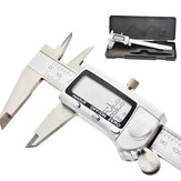 Stainless Steel Digital metal Fraction Caliper 150mm Fraction /mm/ Inch High Precision large LCD display Vernier Caliper
