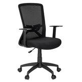 Cadeira de escritório de malha Douxlife® DL-OC04 ergonômica Design com almofada de espuma respirável de alta elasticidade Suporte lombar para home office