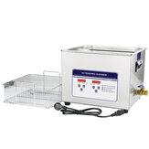 SKYMEN 040S 10L nettoyeur à ultrasons minuterie numérique chauffage Machine de bain sonique pour pièces métalliques PCB dispositif de nettoyage par ultrasons rondelle