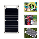 LEORY 5V 10W DIY Portable Solar Panel Camping Slim Light USB Charging Power Bank Pad Universal For Phone Lighting Car