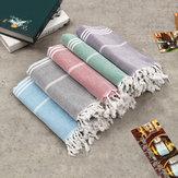 100x180cmLargeBeachRęczniktureckiRęcznik kąpielowy Hammam Bawełniane paski Myjki