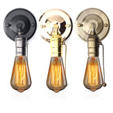 E27 Antieke Vintage Muurlampketting Ontwerp Sconce Lamp Bulb Socket Holder Fixture